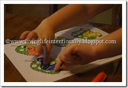 I is for Inchworm Worksheets