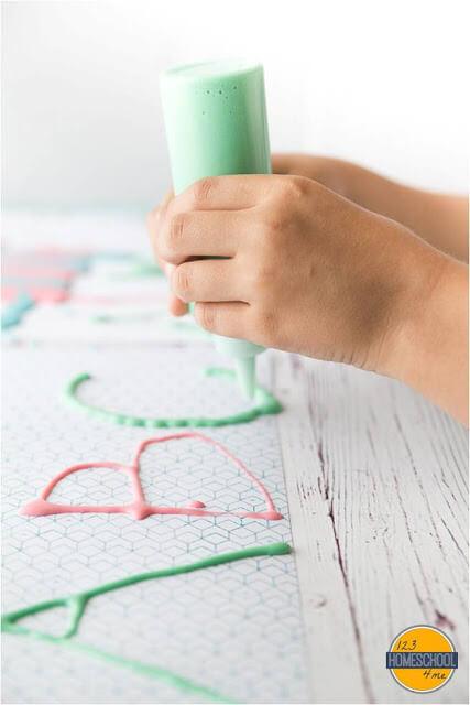 alphabet activity for preschool and kindergarten