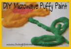 Easy Microwave Puffy Paint