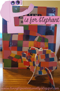 E is for Elephant! This super cute letter e alphabet unit allow kids to make a letter craft, elephant craft, and more perfect for preschool and kindergarten #alphabet #preschool