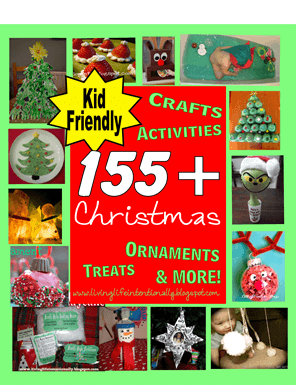155 Christmas Crafts Kids and Christmas activities families, preschool, toddlers, and children .  So many really creative ideas  #christmascrafts #christmasactivities #kids