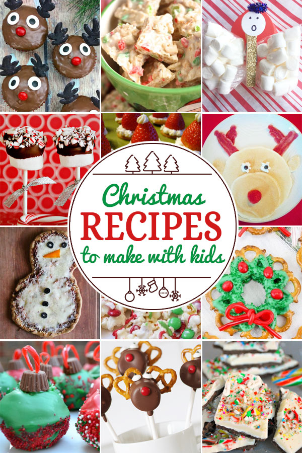 Christmas Snacks and Recipes to Make with Kids including 200+ christmas craft and activities for kids including holiday craft ideas for December, Ornaments for kids to make, christmas math, christmas science, christmas literacy, Christmas sensory and free Christmas printables too! (themes such as santa, nativity, christmas tree, snowman, and more!)