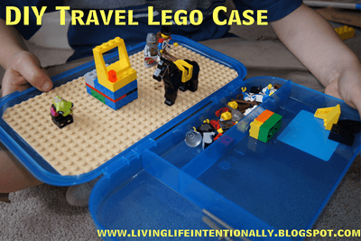 DIY Travel Lego Case #lego #kids