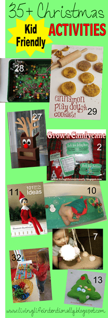 35 Christmas Activities for Kids #christmas #kidsactivites #preschool #play