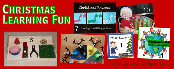 Make Christmas Learning Fun #christmas #preschool