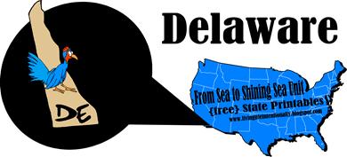 FREE Delaware State Printables