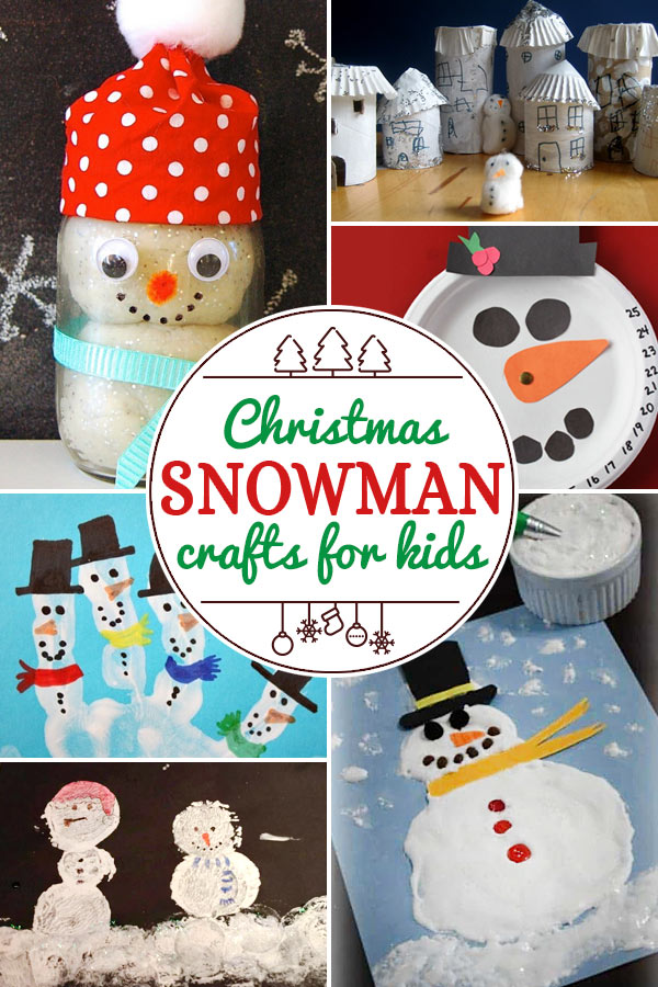 Snow and Snowman Crafts for Kids including 200+ christmas craft and activities for kids including holiday craft ideas for December, Ornaments for kids to make, christmas math, christmas science, christmas literacy, Christmas sensory and free Christmas printables too! (themes such as santa, nativity, christmas tree, snowman, and more!)