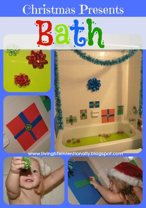 Christmas Presents Bath
