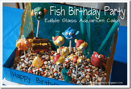 Fish Birthday Party Ideas #birthdays