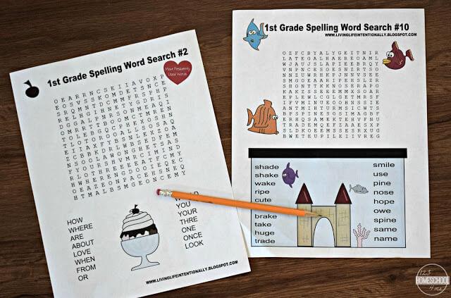 1st-grade-spelling-worksheets