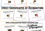 Homeschool Award Certificates