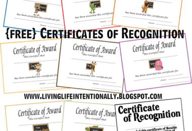 Homeschool Award Certificates