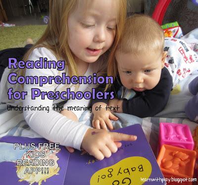 understanding text, teach kids how to read