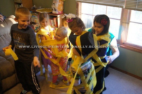Tangled Party Game - tangled up in hair