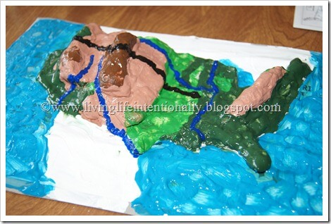 map project for kids