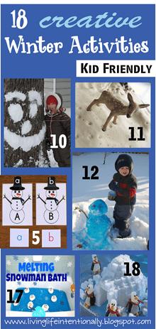 18 creative Winter Activities for Kids