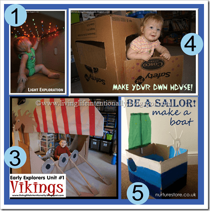 Kids Activities with Boxes