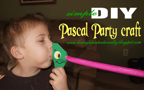 kids birthday party ideas - simple DIY Pascal Party Craft
