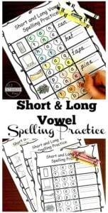 Long Vowel Spelling Practice