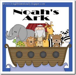FREE Noah's Ark Preschool Pack