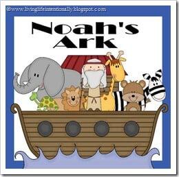 FREE Noah's Ark Preschool Pack