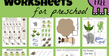 If you are learning about dinosaurs, you will love adding these free dinosaur printables to your upcoming dinosaur theme. These dinosaur preschool worksheets include a variety of early literacy and math skills with cute dinosaur clipart to keep your kids engaged and eager to learn! Use dinosaur worksheets for preschool, toddler, pre-k, kindergarten, and first graders to work on letters, numbers, and more. Simply download pdf file withdinosaur printablesand you are ready to play and learn withdinosaur activities for kids.