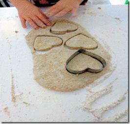 Making Tea Biscuits