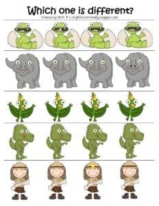 dinosaur worksheets free