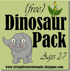 FREE Dinosaur Printables | 123 Homeschool 4 Me