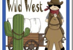 Wild West Worksheets for Kids