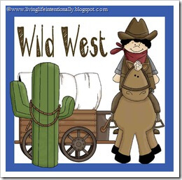 Wild West Worksheets for Kids