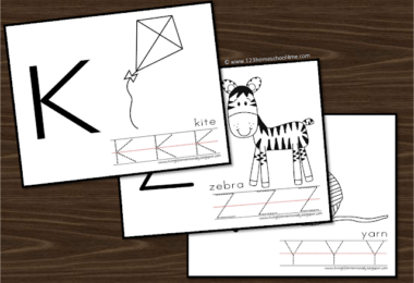 no prep, black and white Preschool Alphabet Worksheets to help students practice trace uppercase letters and strengthen fine motor skills