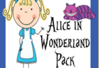Alice in Wonderland Worksheets