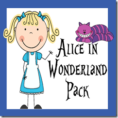 Alice in Wonderland Worksheets | 123 Homeschool 4 Me