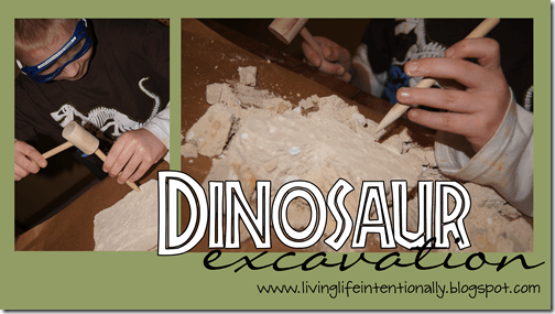 dinosaur excavation Activity for Kids