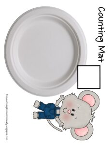 cookie counting mat