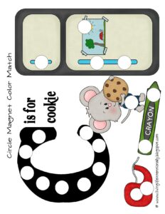 If you give a mouse a cookie do a dot printable