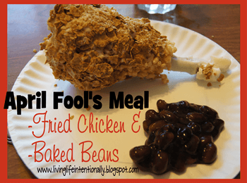 April Fool's Fried Chicken