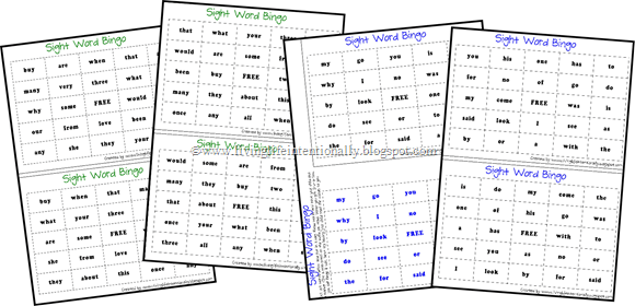 image regarding Sight Word Bingo Printable named No cost Well-liked Sight Text BINGO 123 Homeschool 4 Me