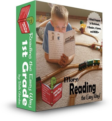 Reading the Easy Way 1st Grade - this is such a fun program that helps first graders practice reading sight words and gain fluency because of all the games, fun worksheets, and printable readers.