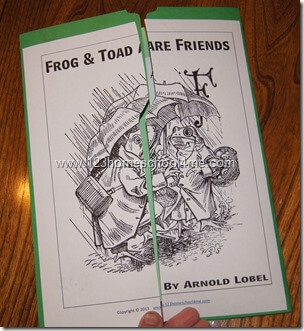 Literature Study Guide: Frog and Toad are Friends Lapbook