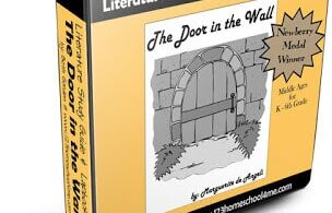 Dive into this classic Medieval literature with this The Door in the Wall Study Guide & Lapbook perfect for kids in 4th-6th grade.