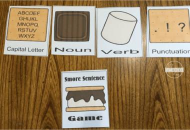 Smore Sentences Game