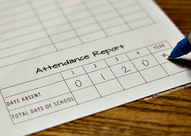free-printable-homeschool-attendance-records