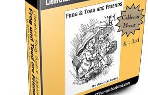 Frog and Toad Literature Guide for kindergarten, first grade and 2nd grade kids