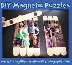 raod trip games - DIY Magnetic Puzzle