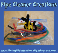 road trip ideas - pip cleaner creations