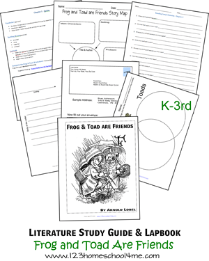 Literature Study Guide - Frog and Toad Are Friends