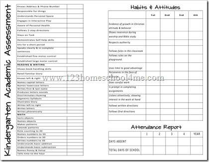 photograph about Printable Report Card referred to as Cost-free Homeschool Post Playing cards 123 Homeschool 4 Me
