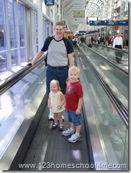 Traveling with Children - Walk, walk, walk